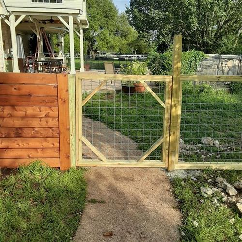 Goat Wire Gate