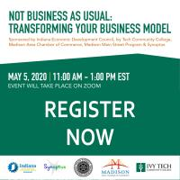 WEBINAR - Not Business As Usual: Transforming Your Business Model