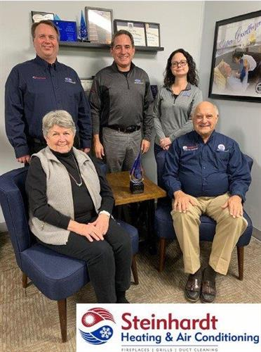 Picture of our owners:  Tony and Phyllis Steinhardt, Tony Steinhardt III, Monica Nolan, Scott Tebe