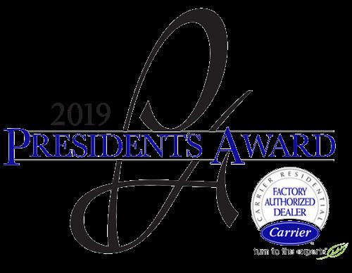 2019 President's Award Logo
