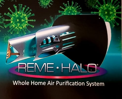 REME HALO whole home air purifier.