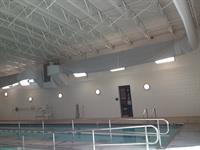 Tony Aguirre Community Center Pool - New Lighting