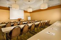 Meeting rooms totaling more than 3,000 square feet.