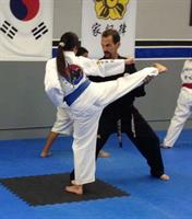 Side Kicks instruction from Master Henrich
