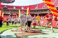 Chiefs 5K - Finish on the 50