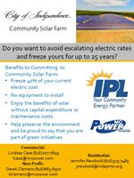 Independence Community Solar Farm