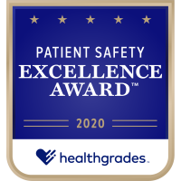 St. Mary's Medical Center Achieves Healthgrades 2020 Patient Safety Excellence Award