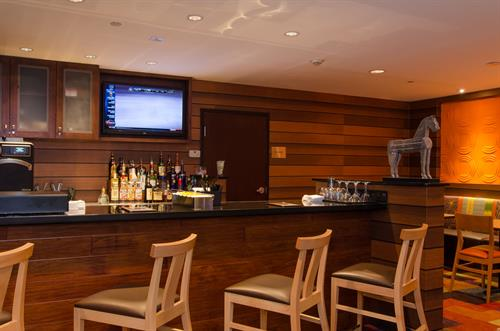 Mix and mingle with friends at our on-site bar, the Fourth Street Pub.