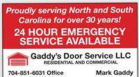 Gaddy's Door Service, LLC