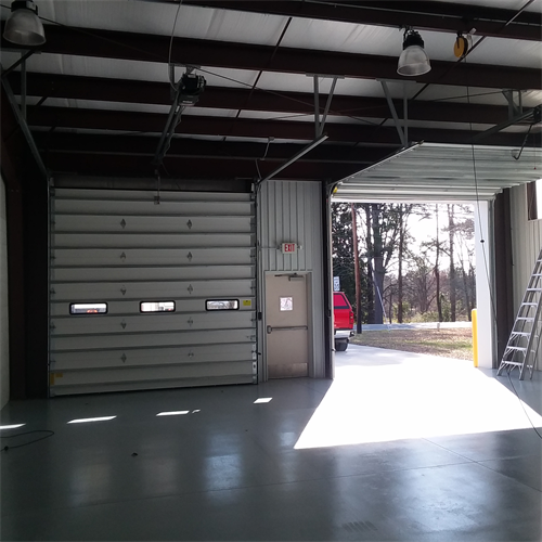 Fire Dept. Doors