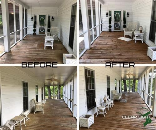 Wrap Around Porch Before/After