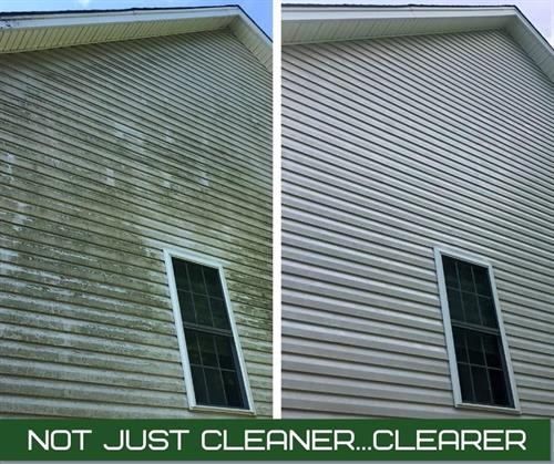 Before/After Vinyl Siding
