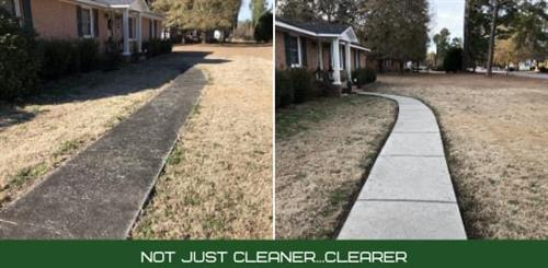 Walkway Before/After