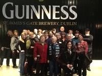 Enjoying Guinness in Dublin