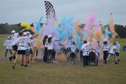ECS Color Run