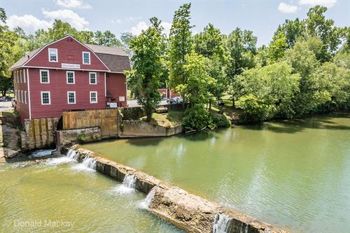 War Eagle Mill was first built in 1832 to serve the local community