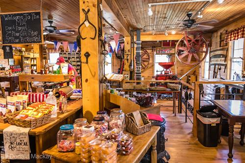 Our gift shop is a fun place to shop for organic foods, souvenirs and local crafts