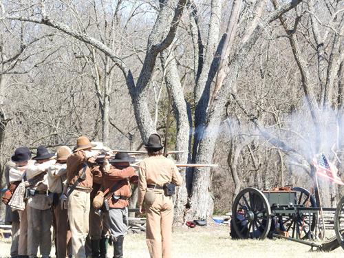 Firing demonstration