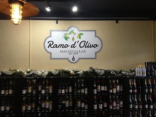 Indoor sign, Romo d'Oliva