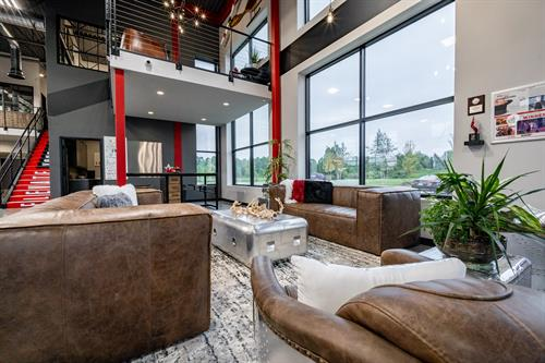 MOjO Marketing Lounge Area