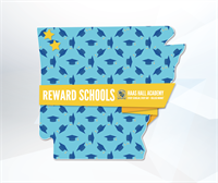 Recognized as a reward school by the Arkansas Department of Education for the 6th consecutive year. Top 5% in performance and Top 5% in growth.