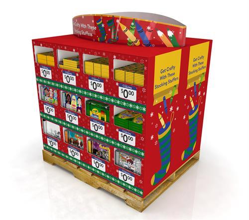 Stock Stuff Pallet Solution Idea (Walmart)