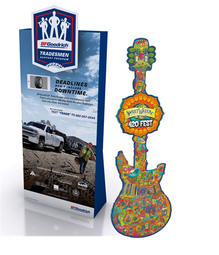 High Impact Standee solutions (Various Retail)