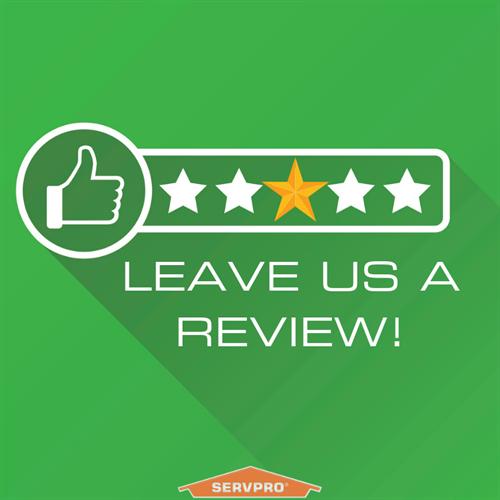 Leave us a review! We appreciate it!
