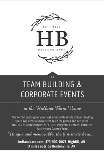 Holland Barn Corporate Events