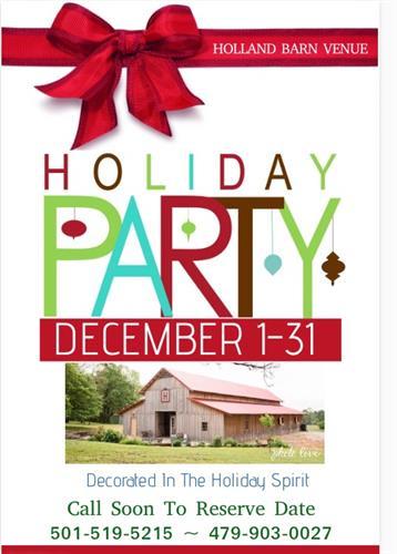 Holland Barn Holiday Parties