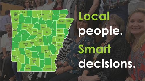 We're really proud of our  statewide network of passionate people who care about the future of their communities.