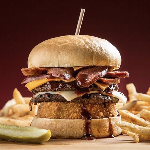Cribfire burger!