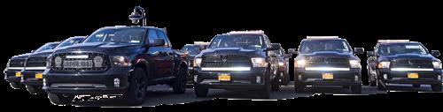Fleet of Brosnan SmartTrucks and Drone Truck