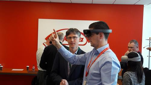 Our team guides yours through the new landscape of immersive technology