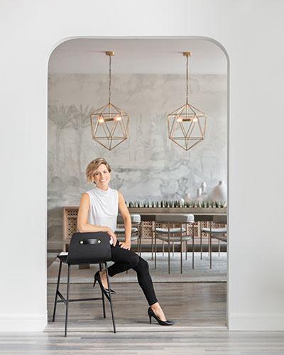 Carly Fox, Interior Designer, Founder and Principal of FOX + DESIGN