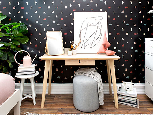 Brooklyn Furnishing and Styling project for micro rental bedroom