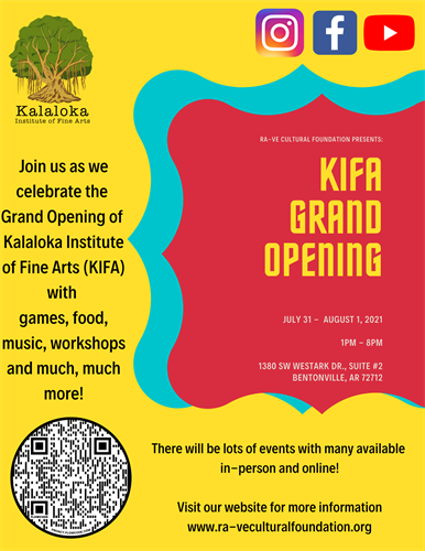 Grand Opening of our Space July 31st and Aug 1st, 2021