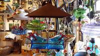 Glass Pagoda Hummingbird Feeder