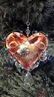 Copper-Accented Tree Ornament