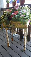 Decoupage Planter Box by Becky from Tapioca