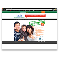 CommandHomeMortgage.com (B2C website and search-engine optimization)
