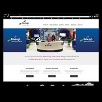Lineup.com (B2B website)