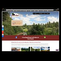 NortwoodsAZ.com (B2C cabin-rental website [local])