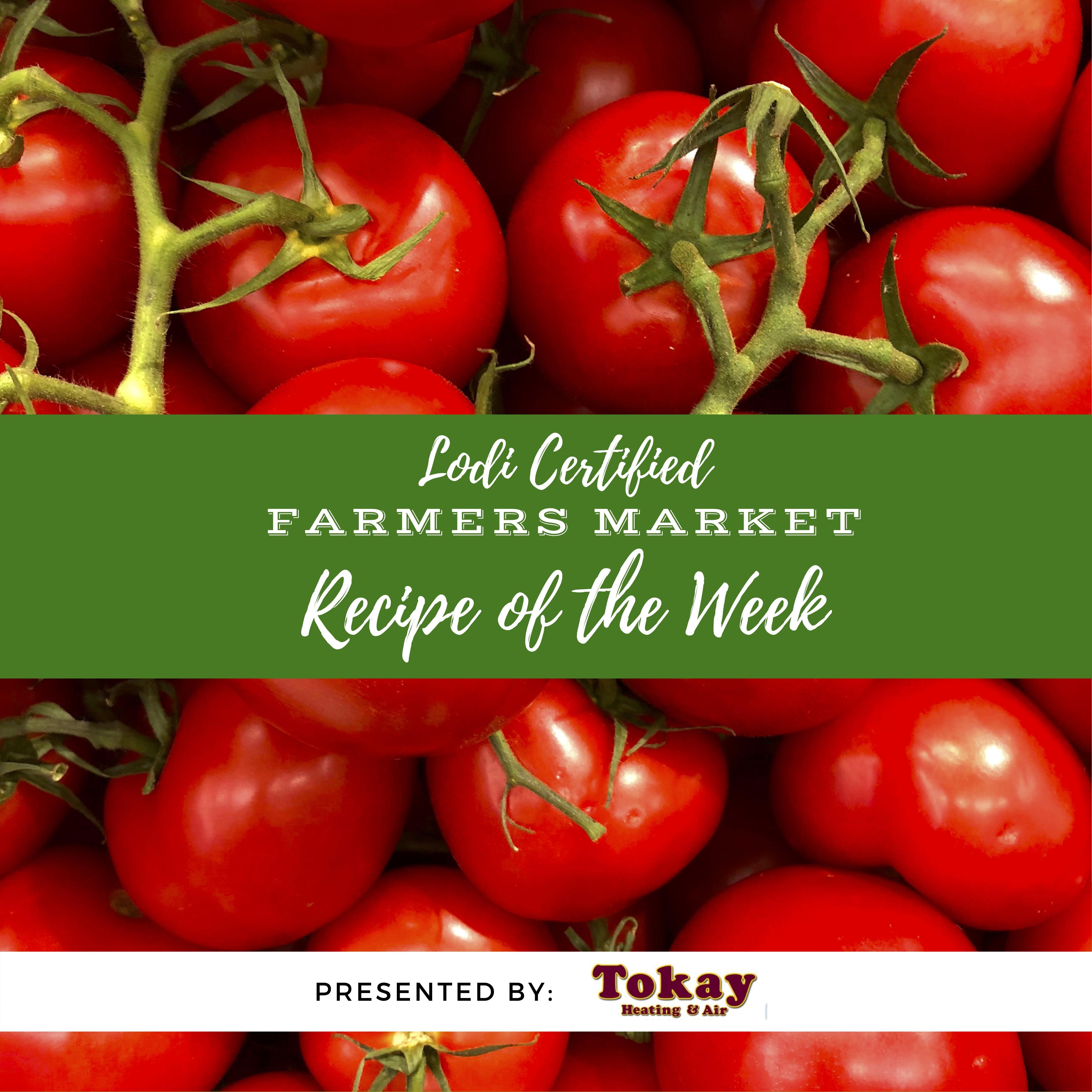Recipe of the Week - Goat Cheese Stuffed Tomatoes
