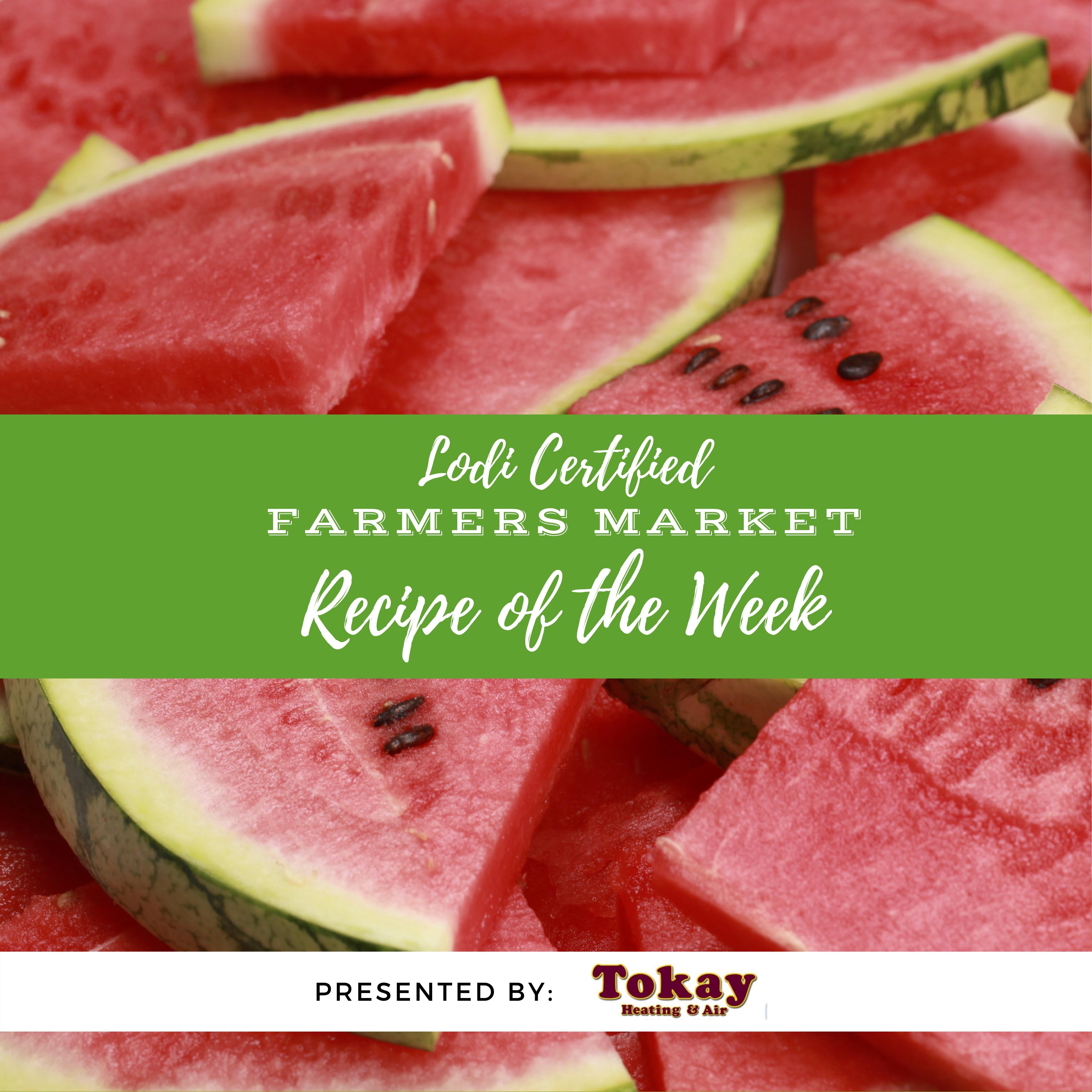 Recipe of the Week - Watermelon Strawberry Caprese Salad