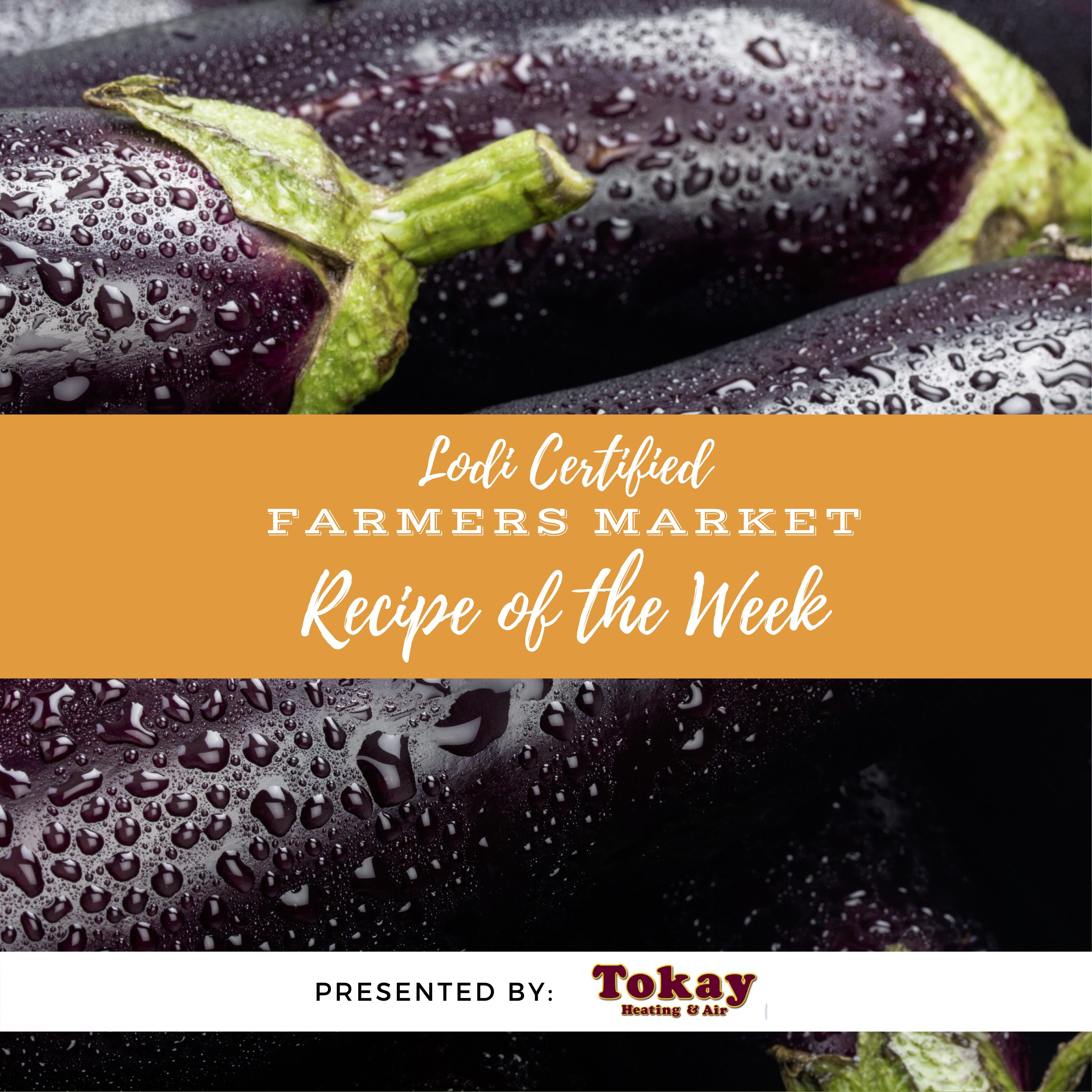 Recipe of the Week- Eggplant Parmesan Lasagna