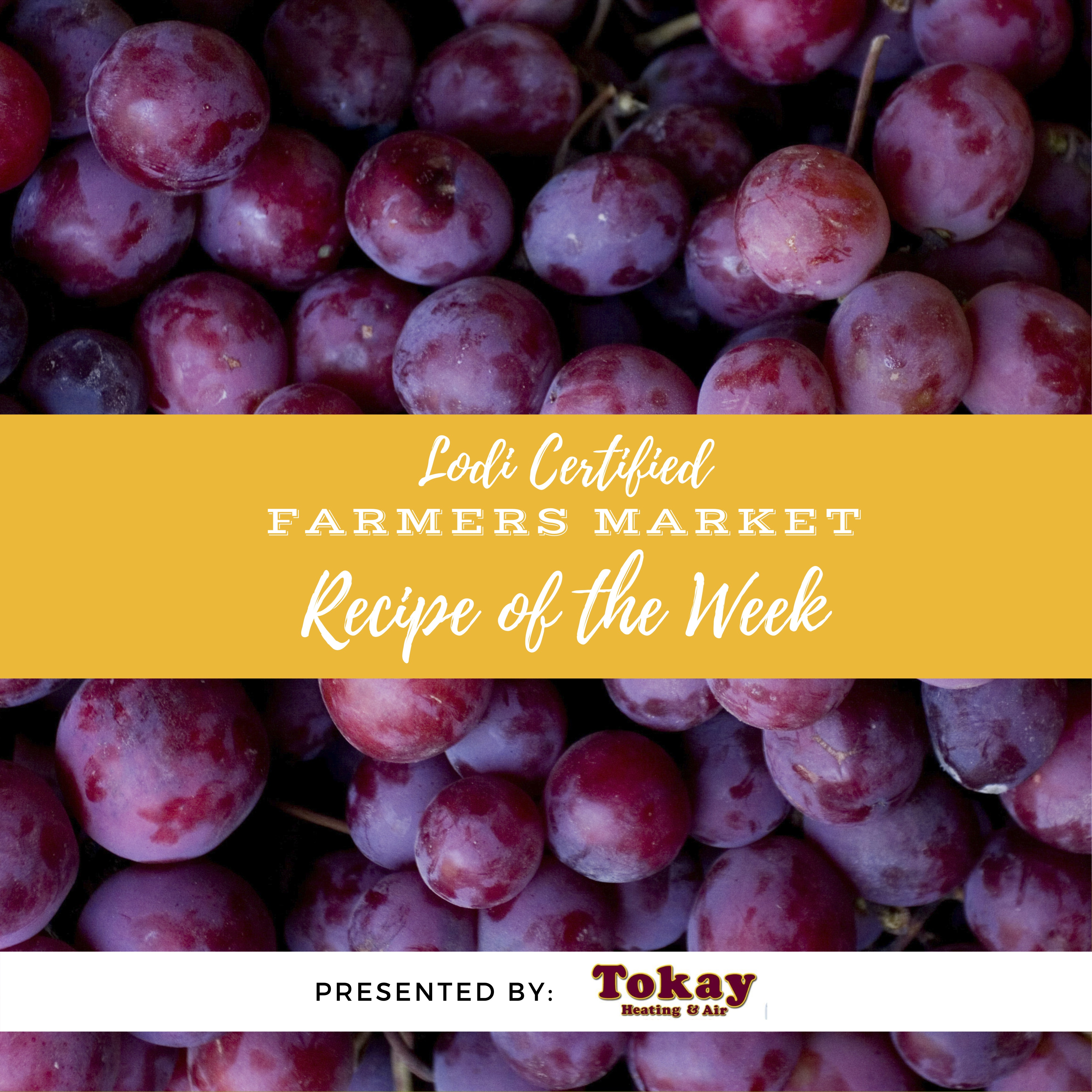 Recipe of the Week- Roasted Grapes with Thyme, Brie, and Honey