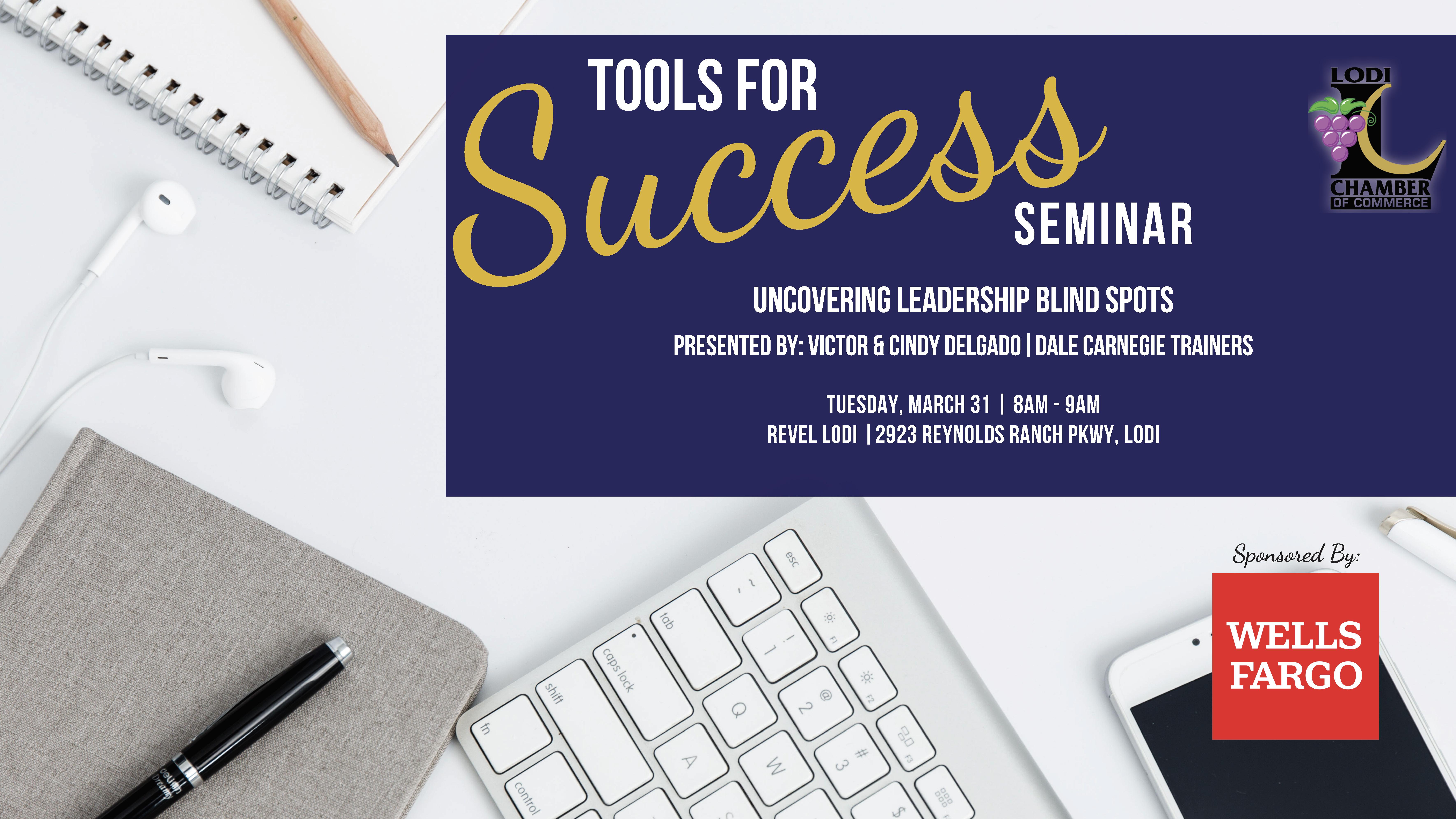 Meet Your Tools for Success Seminar Speakers