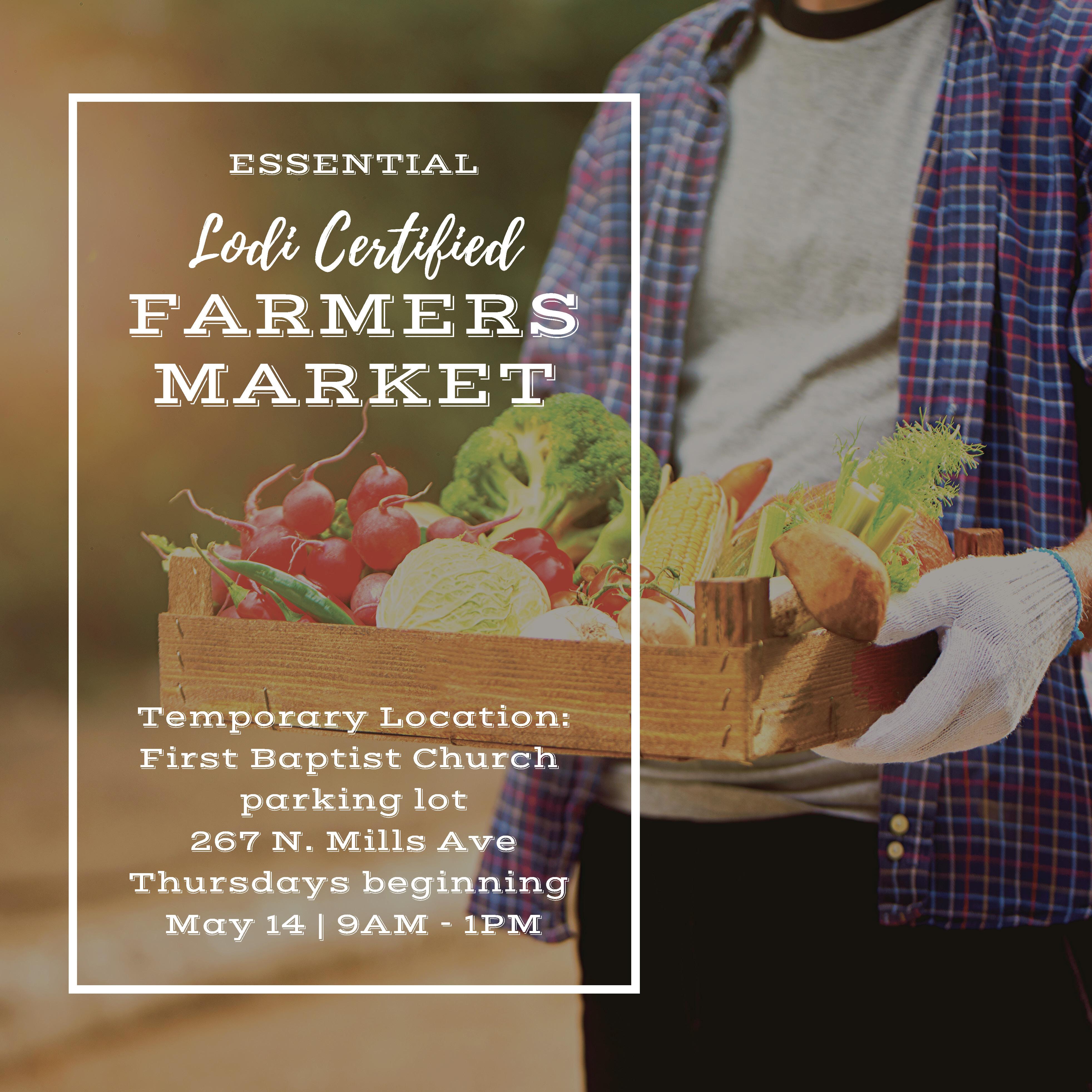 Essential Lodi Certified Farmers Market