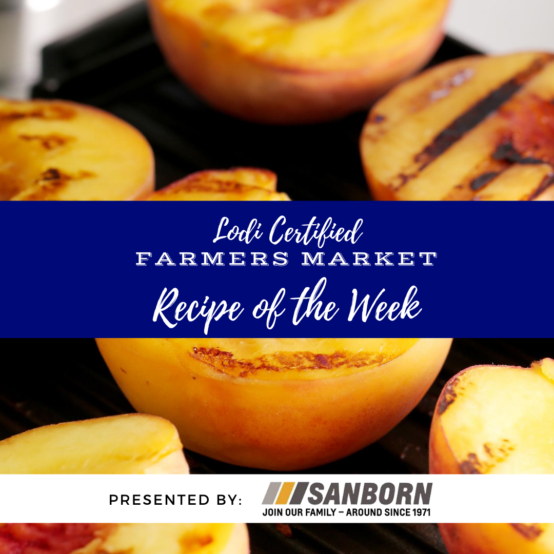 Recipe of the Week- Grilled Peach Salsa